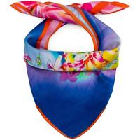 Accessoires textile Femme Echarpes / Etoles / Foulards Allée Du Foulard Carré de soie Piccolo CoFlor multicolore