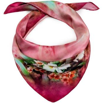 Accessoires textile Femme Echarpes / Etoles / Foulards Allée Du Foulard Carré de soie Piccolo Paradisio violet