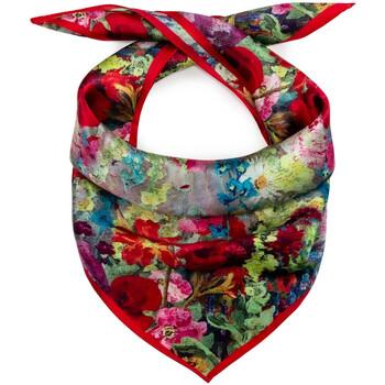 Accessoires textile Femme Echarpes / Etoles / Foulards Allée Du Foulard Carré de soie Piccolo Prata rouge