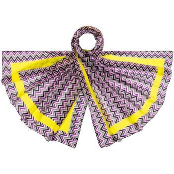 Accessoires textile Femme Echarpes / Etoles / Foulards Allée Du Foulard Etole soie Rukola violet