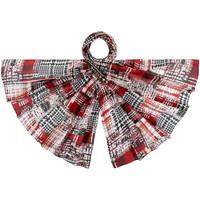 Accessoires textile Femme Echarpes / Etoles / Foulards Allée Du Foulard Etole soie Grafica rouge
