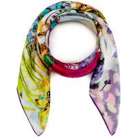 Accessoires textile Femme Echarpes / Etoles / Foulards Allée Du Foulard Carré de soie Premium Bukiet multicolore
