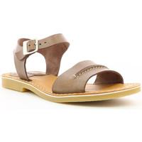 Chaussures Femme Sandales et Nu-pieds Kickers Tangola MARRON