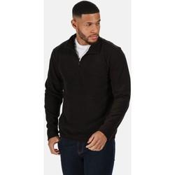 Vêtements Homme Polaires Professional Polaire avec ouverture 1/2 zip MICRO Gris Noir