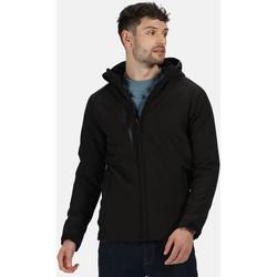 Vêtements Homme Parkas Professional Veste Softshell doublée REPELLER Noir