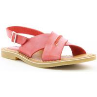 Chaussures Femme Sandales et Nu-pieds Kickers Tangolito ROUGE