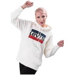 Vêtements Femme Sweats Levi's Graphic Sport Blanc