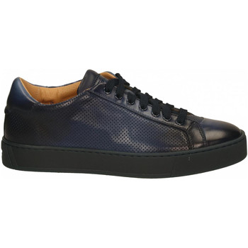 Chaussures Homme Baskets basses Santoni DERBY 7 OCC. blue