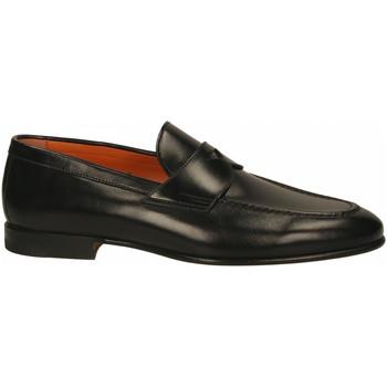 Chaussures Homme Mocassins Santoni PENNY black