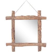 Maison & Déco Miroirs Vidaxl Miroir 70 x 5 x 70 cm Brun