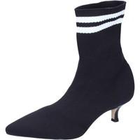 Chaussures Femme Bottines Olga Rubini BJ428 Noir