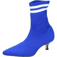 Chaussures Femme Bottines Olga Rubini BJ429 Bleu