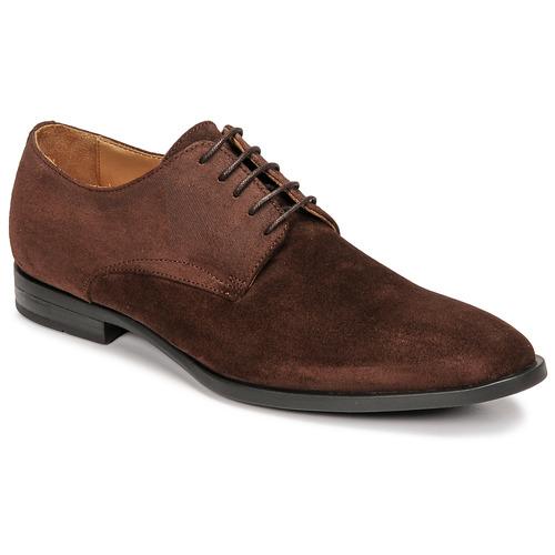 Chaussures Garçon Baskets basses Pellet ALIBI Marron
