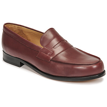 Chaussures Homme Mocassins Pellet COLBERT Rouge
