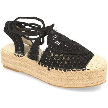 Chaussures Femme Espadrilles H&d YZ19-58 Negro