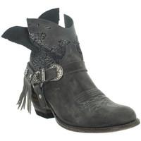 Chaussures Femme Bottines Sendra boots Bottes  Deborah en cuir ref_sen43645 Gris gris
