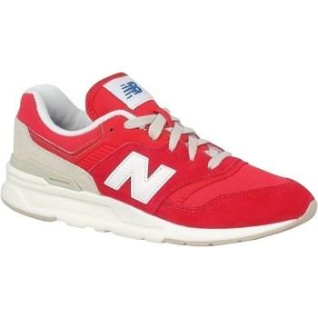 Chaussures Enfant Baskets basses New Balance 997 Blanc, Rouge