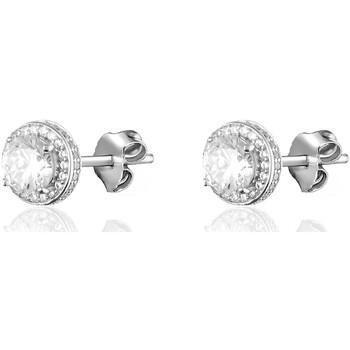 Montres & Bijoux Femme Boucles d'oreilles Agatha Ruiz de la Prada BO puces  IMPERIAL - Cristal - Argenté - Blanc