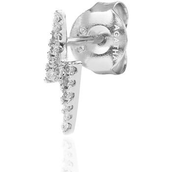 Montres & Bijoux Femme Bijoux piercing Agatha Ruiz de la Prada Piercing puce  ECLAIR - Cristal - Argenté Blanc