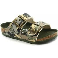 Chaussures Enfant Mules Birkenstock BIR-RRR-1012684-KH Verde