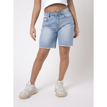 Vêtements Femme Shorts / Bermudas Project X Paris Short Bleu