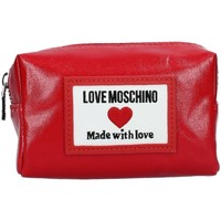 Sacs Femme Pochettes / Sacoches Love Moschino JC5303PP1CLC CLUTCH femme ROUGE ROUGE