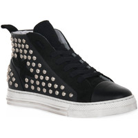 Chaussures Femme Baskets montantes At Go GO GALAXY NERO Nero