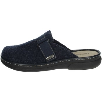 Chaussures Homme Mules Uomodue STRAPPO CUCITO-11 Bleu