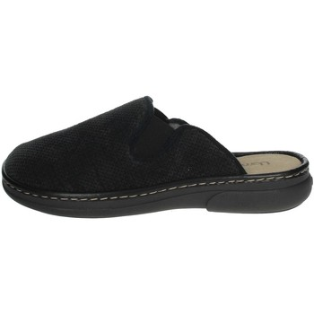 Chaussures Homme Mules Uomodue MICRO PUNTATO-31 Noir