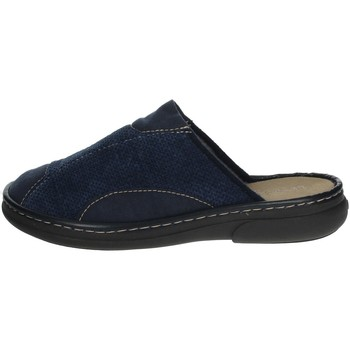 Chaussures Homme Mules Uomodue MICRO PANNO-63 Bleu
