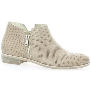 Chaussures Femme Boots Pao Boots cuir Taupe
