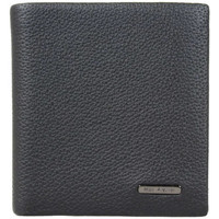Sacs Homme Pochettes / Sacoches Mac Alyster Porte monnaie en cuir  Premium RFID Noir Multicolor