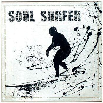Maison & Déco Appliques Signes Grimalt Plaque Murale -Soul Surfer Multicolor