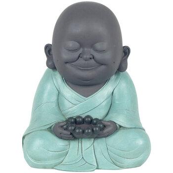 Maison & Déco Statuettes et figurines Signes Grimalt Sourire De Bouddha Avec T Lumière Multicolor