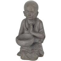 Maison & Déco Statuettes et figurines Signes Grimalt Little Buddha Pocillo Gris