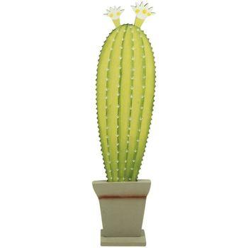 Maison & Déco Plantes artificielles Signes Grimalt Cactus Verde