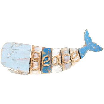 Maison & Déco Appliques Signes Grimalt Whale Beach-Peace Multicolor