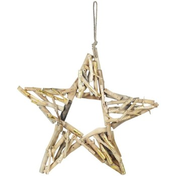 Maison & Déco Décorations de noël Signes Grimalt Avec Étoile Bois Dorado