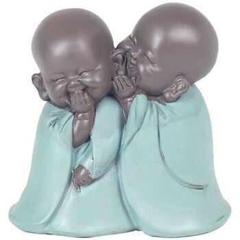 Maison & Déco Statuettes et figurines Signes Grimalt Figure Bouddha Verde
