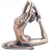 Maison & Déco Statuettes et figurines Signes Grimalt Paloma Yoga-Pose Dorado