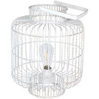 Maison & Déco Lanternes Signes Grimalt Led Lampe Lumières Blanco