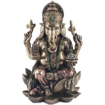 Maison & Déco Statuettes et figurines Signes Grimalt Ganesh Dorado