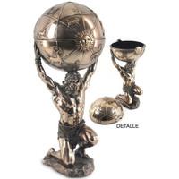 Maison & Déco Statuettes et figurines Signes Grimalt Figure-Atlas Dorado