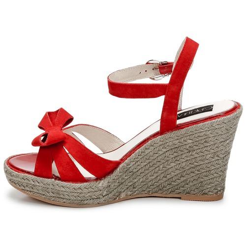 pieds Rouge Sandales Nu Femme Et Summer C petula dshQCxtr