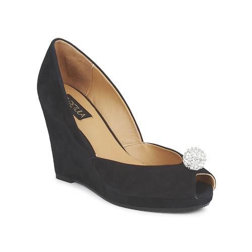 Chaussures Femme Escarpins C.Petula YVONNE Noir
