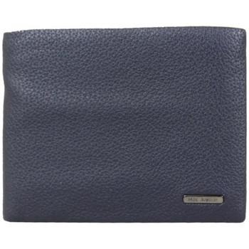 Sacs Homme Portefeuilles Mac Alyster Portefeuille Européen en cuir  Premium RFID Bleu Multicolor