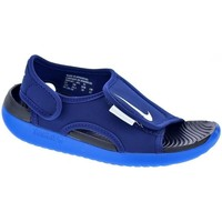 Chaussures Garçon Tongs Nike Sunray Adjust Azul