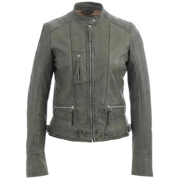 Vêtements Femme Vestes en cuir / synthétiques Oakwood EACH KAKI CLAIR 570 Kaki