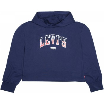 Vêtements Fille Sweats Levi's Sweat fille à capuche Bleu