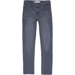 Vêtements Garçon Jeans slim Levi's Jeans garçon délavé Gris